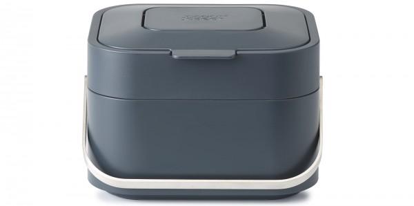 Stack 4l Abfallbehälter, graphite, 19.5x23.5x16 cm