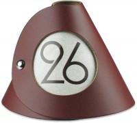 Tischnummer bordeaux 10er-Set