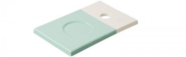 Color Lab Tablett rechteckig, 14x9x0.8 cm, grün