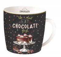 Hot Chocolate Porzellanbecher in GB, 350 ml
