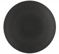 Equinoxe Speiseteller, Ø 28 cm, H: 3.3 cm, schwarz