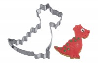"Ausstechform ""Drache ohne Flügel"", 6,5 cm"