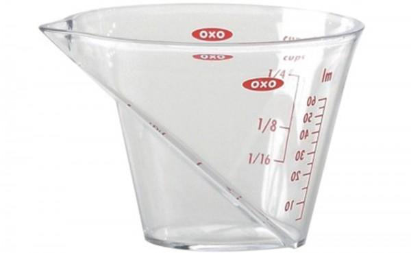 Abgewinkelter Messbecher Mini, 60 ml