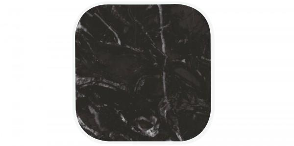 Osmos Untersetzer 4er Marmor Optik/schwarz 10×10×1.1 cm