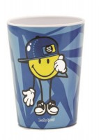 Smiley Kid Boy Becher blau 26 cl