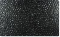 Tischset eckig schwarz Strauss 31x41cm