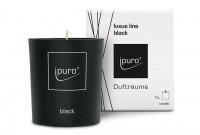 Duftkerze luxus line black