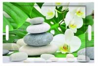 Meditation Tablett m. Griffen 40x27 cm