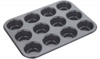 Backform tief 12er Muffin, 35x26.5x3cm, Antihaft