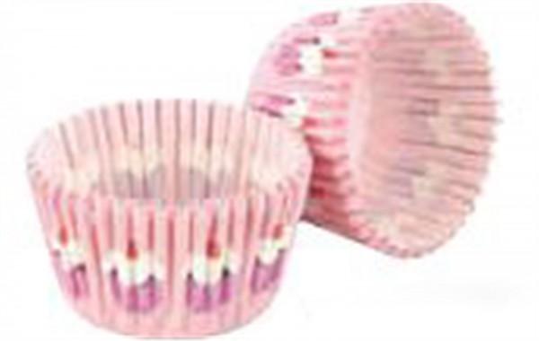 """Cupcake Formen """"Cupcake"""", pink, 32 Stk."""