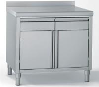 Küchenmöbel 700x1000mm, h:900mm, 2 Flügeltüren, 2 Schubladen