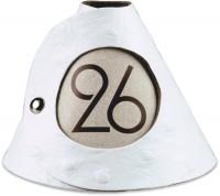 Tischnummer weiss Strauss 10er-Set