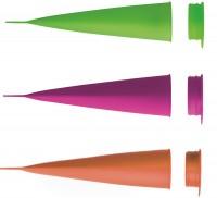 Calipo Eisform 2er Set magenta/grün, 21 cm