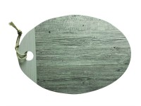 Fjord Tablett 37 x 26 cm, grau