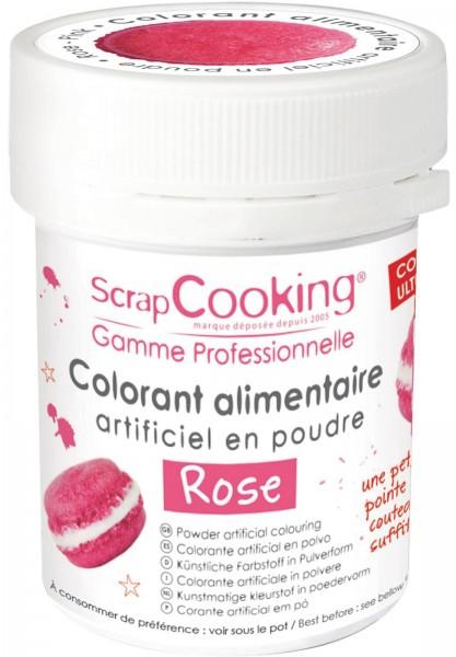 Farbpulver, rosa, 5 g
