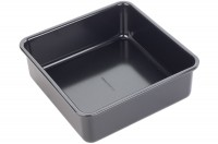 Backform Kuchen quadratisch, 20x20x8cm, Antihaft