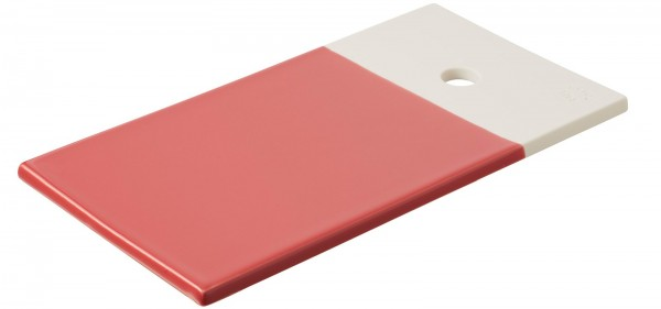 Color Lab Tablett rechteckig, 24.5x13x0.8 cm, rot