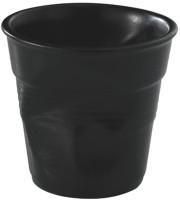 Frühstücksknitterbecher, 33cl, schwarz