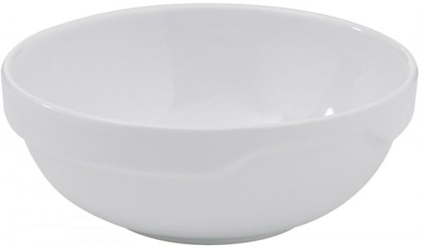 6x Salatschüssel, Ø 13 cm, weiss