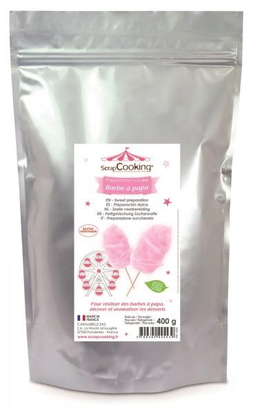Zuckerwatte rosa - Rosen 400 g