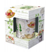 Gardening Teetasse mit Siebeinsatz in GB, 300 ml