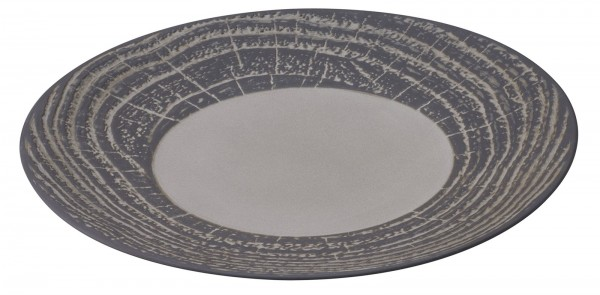 Präsentationsteller rund, H: 3.4 cm, Ø 31 cm, Pfeffer