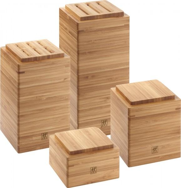 Aufbewahrungsbox-Set 4-tlg., Bambus