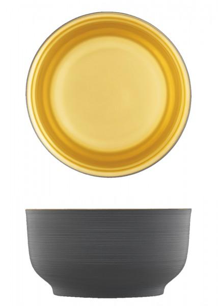 Omnia Schale anthrazit gold ø15cm