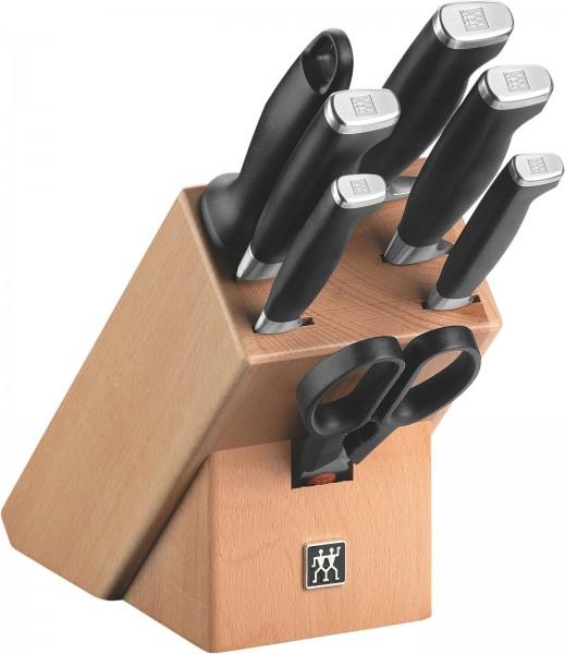 Four Star II Messerblock, natur 8-tlg. 260mm