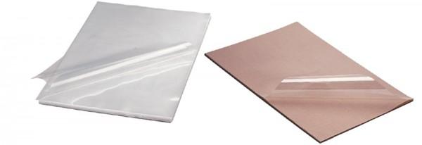 Folie für Schokolade, 100 Blätter à 60x40cm 150 Mikron