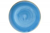 Stonecast Cornflower Blau Teller coupe tief 31cm