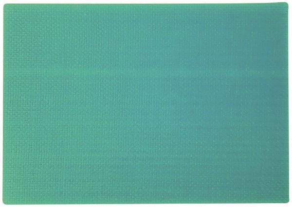 """PP-Tischset """"Coolorista"""", eckig, türkis, 45x32.5 cm"""