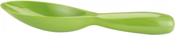 Servierlöffel kurz, grün 21 cm
