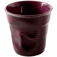 Kaffee Knitterbecher 12cl, aubergine