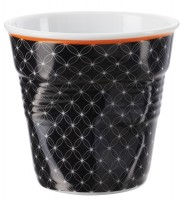 """Espresso Knitterbecher 8 cl, weiss/schwarz """"Livia"""""""