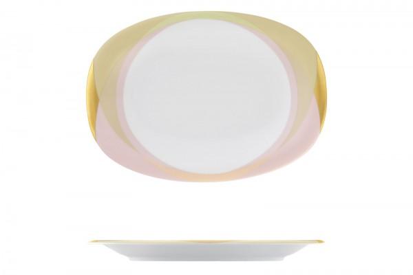 Fluen Tableau oval L: 21.5cm Shifting colors