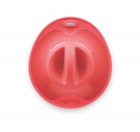 Silikondeckel, rot 21 cm
