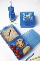 Smiley Kid Boy Lunch Box blau (innen aufgeteilt)