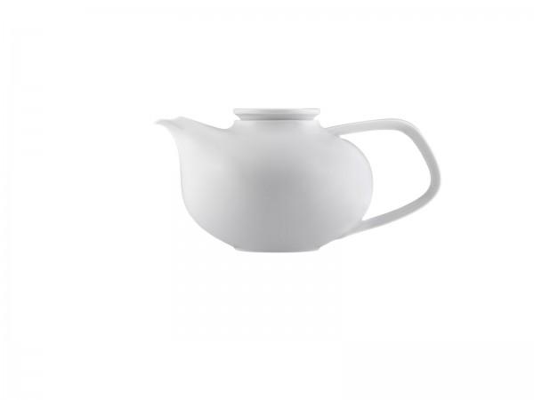 Fluen Teekanne mit Teesieb 0.60 lt. weiss