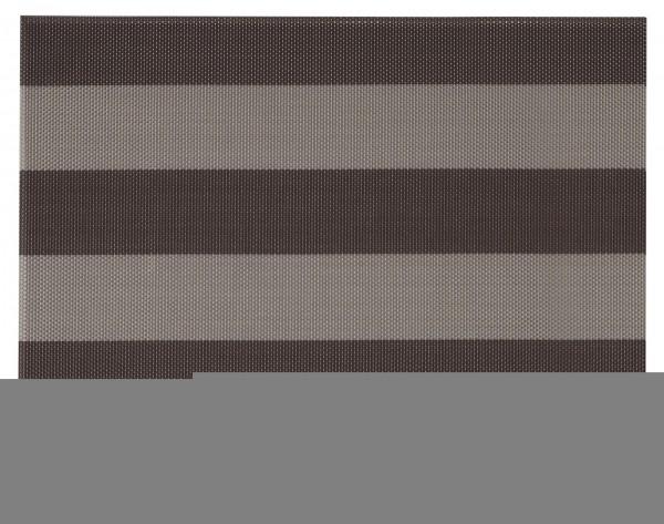 """Tischset """"Stripes"""", eckig, beige/braun, 32x42 cm"""
