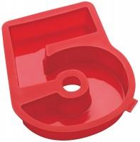 Zahlen Backformen Nummer 5, rot