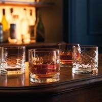 La Rochère 4er Set Whisky Gläser Dandy