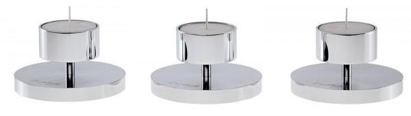 Kerzenhalter Coppa alta, H: 35cm Teelicht Ø6cm