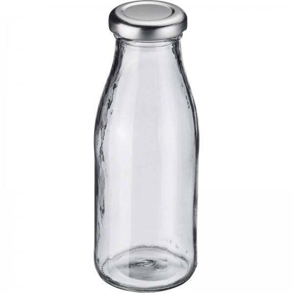 Milch-/Saft- und Smoothieflasche 250 ml, rund