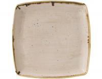 Stonecast Nutmeg Beige Platte quadratisch 26.8x26.8cm