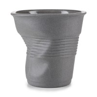 Cappucino Knitterbecher, 18 cl, grau matt