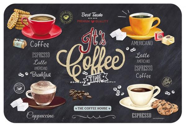 It's coffee time Tablett 22x15 cm