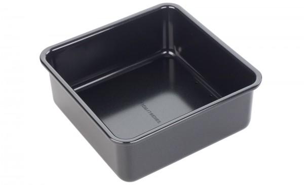 Backform Kuchen quadratisch, 18x18x8cm, Antihaft