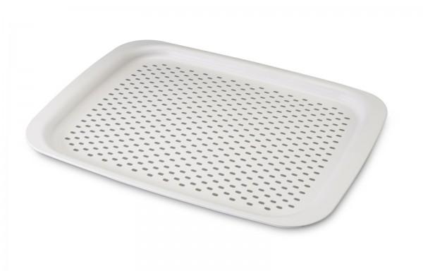 4x Antirutschtablett Grip Tray (NEW) weiss 45x32 cm