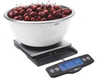 Haushaltwaage Edelstahl 5kg. ausziehbar